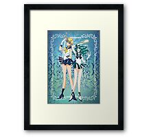 Sailor Uranus and Neptune  Framed Print
