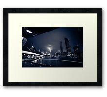 Melbourne Storm Framed Print