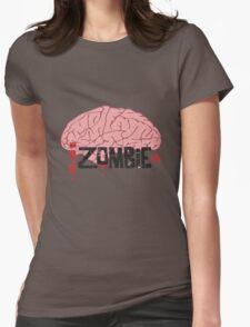 IZombie Brain Womens Fitted T-Shirt