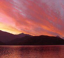 Mount Aspiring Sunset by oliverjridgill