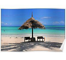 ZANZIBAR - Kiwengwa beach Poster