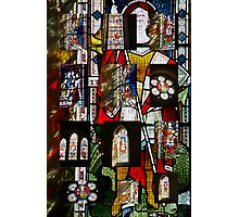 Stained Glass Collage Photographic Print
