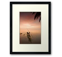 Yup, another boat Framed Print