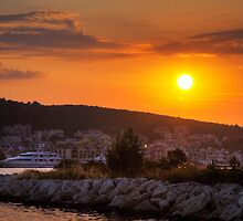 Greek Sunset by Paul Thompson Photography