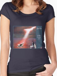 Life at Sea Women's Fitted Scoop T-Shirt