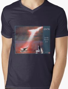 Life at Sea Mens V-Neck T-Shirt