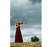 Nature Violin 03 Photographic Print