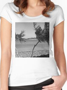 Wind Song. Women's Fitted Scoop T-Shirt