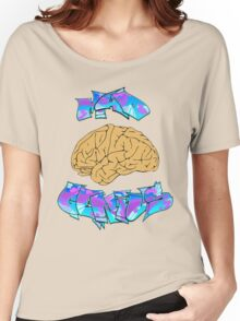 Mad Genius Brain Women's Relaxed Fit T-Shirt