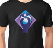Purple taloned hand holding an orb symbol of the Malazan empire Unisex T-Shirt