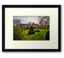 Hall Place Topiary Framed Print