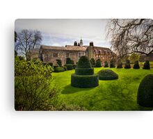 Hall Place Topiary Canvas Print