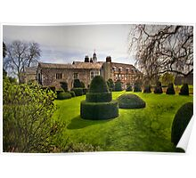 Hall Place Topiary Poster
