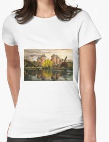 The castle Womens Fitted T-Shirt