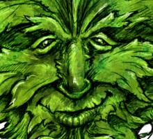 green man only Sticker
