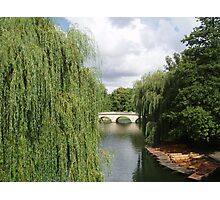 Take a punt in Cambridge Photographic Print