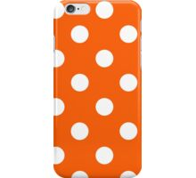 Transparent White Polka Dots iPhone Case/Skin