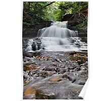 Wyandot Falls - Ricketts Glen Poster