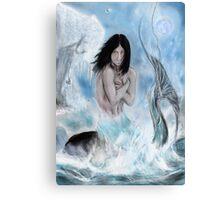 maid blue  Canvas Print