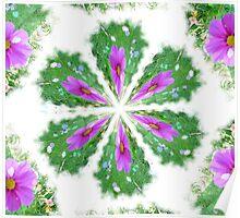 kalidescoped Flower Poster
