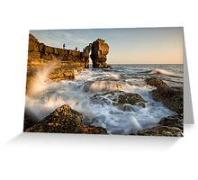Fishing Pulpit Rock  Greeting Card
