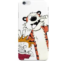calvin and hobbes the adventure iPhone Case/Skin
