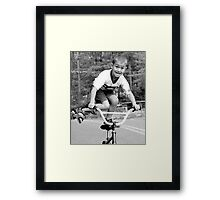 Look What I Can Do! Framed Print