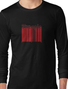 Sheeple Red Bar Long Sleeve T-Shirt