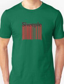 Sheeple Red Bar T-Shirt