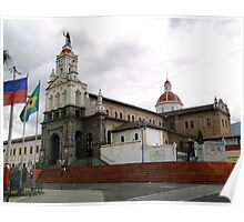 Cotacachi, Ecuador Cathedral Poster