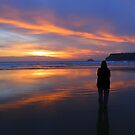 Cornwall: Watching the Sunset at Polzeath by Rob Parsons