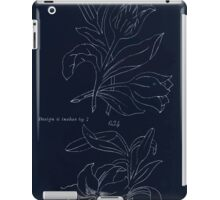 Briggs & Company Patent Transferring Papers Kate Greenaway 1886 0110 Inverted iPad Case/Skin