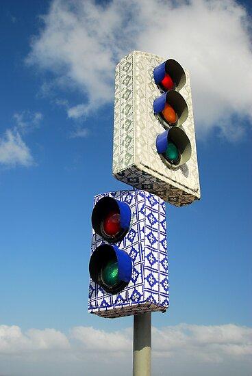 The World's Most Beautiful Stoplight by SteveRuk