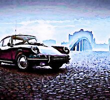 Classic Porsche by Sharon Poulton