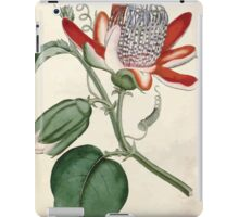 The Botanical magazine, or, Flower garden displayed by William Curtis V1 V2 1787 1789 0144 Passiflora Alata, Winged Passion Flower iPad Case/Skin