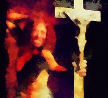 Exorcist by Pierre Blanchard by esotericaart