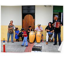 Cotacachi Family Band Poster