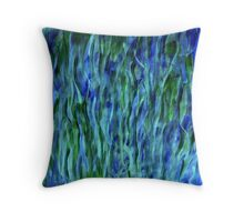 Reeds in the river 2 Throw Pillow
