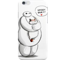 baymax hairy baby hero hug kitty iPhone Case/Skin