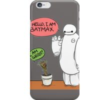 Baymax and groot Friendship iPhone Case/Skin