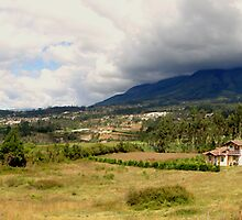 Cotacachi, Ecuador Panorama by Al Bourassa