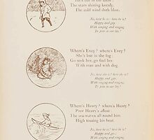 Rhymes for the Young Folk William and Hellen Allingham art Kate Greenaway 0038 Gerald Evey Henry Here and There by wetdryvac
