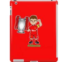 Gerrard - 5 times (version 2) iPad Case/Skin