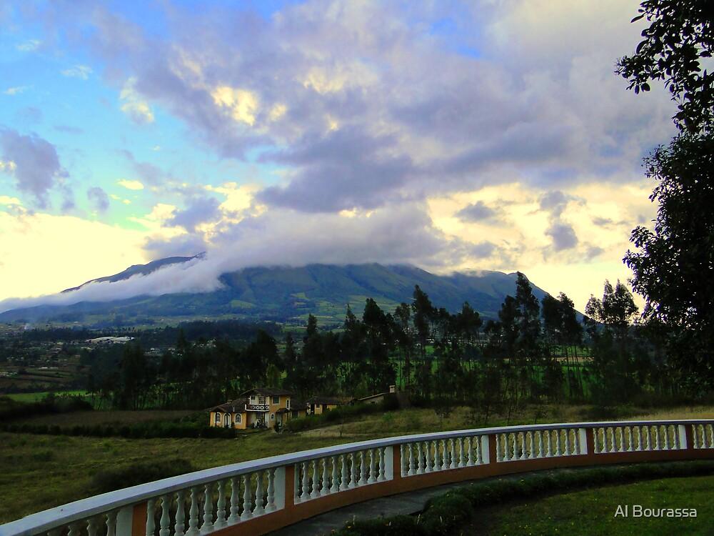 Imbabura Volcano, Cotacachi, Ecuador by Al Bourassa