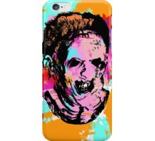 Leather Face PoP iPhone Case/Skin