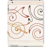 Maurice Verneuil Georges Auriol Alphonse Mucha Art Deco Nouveau Patterns Combinaisons Ornementalis 0011 iPad Case/Skin