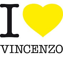 I ♥ VINCENZO Photographic Print