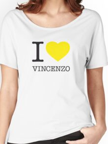 I ♥ VINCENZO Women's Relaxed Fit T-Shirt