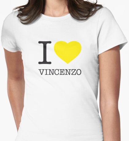 I ♥ VINCENZO Womens Fitted T-Shirt