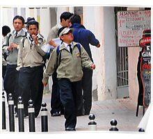 Quito Schoolboys Poster
